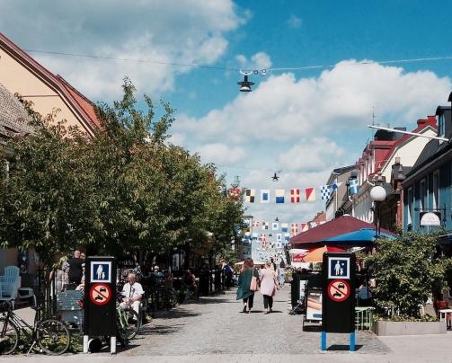 Fußgängerzone Karlskrona