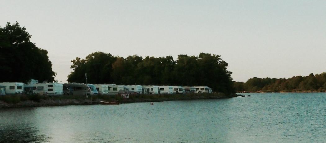 Dragsö Camping, Stellplätze 93-104