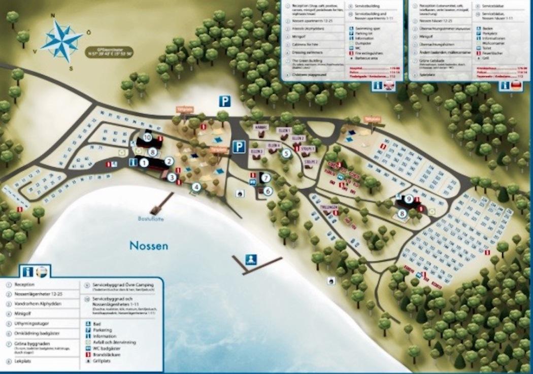 Vimmerby Camping Platzplan