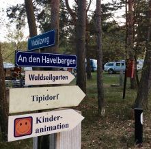 Wohin in Havelberge