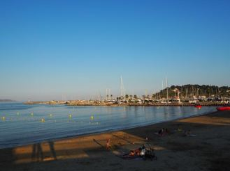 Stadtstrand in Cavalaire-sur-Mer