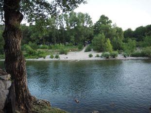 Ardèche am Morgen
