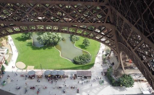 Platz unterm Eiffelturm II