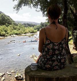 Ein Plätzchen am Fluss