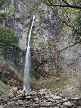 Wasserfall am Ende des Waalweges